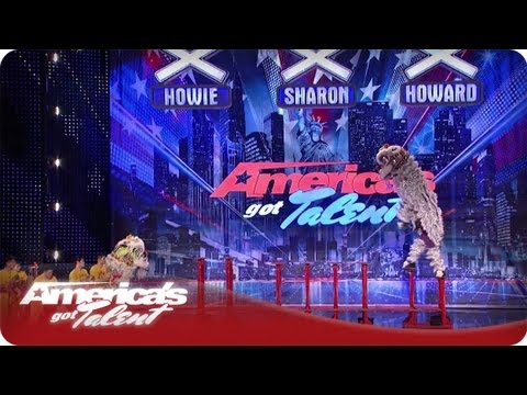 Martial Arts Lion Dancing - America's Got Talent Season 7 Audition LionDanceMe