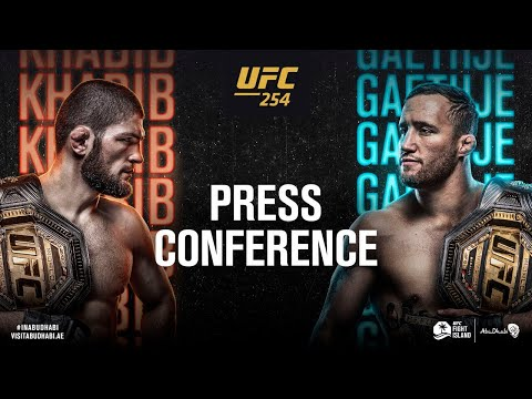 UFC 254: Pre-fight Press Conference
