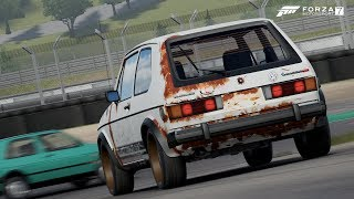 GOLF 1 GTI ! - FORZA 7 - GAMEPLAY PC
