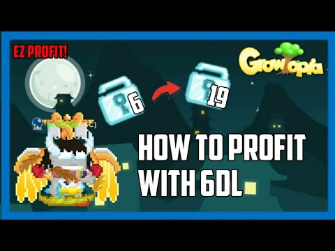 HOW TO PROFIT WITH 6DL! - Growtopia #1