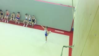 Соревнования по спортивной гимнастике, вольные упражнения