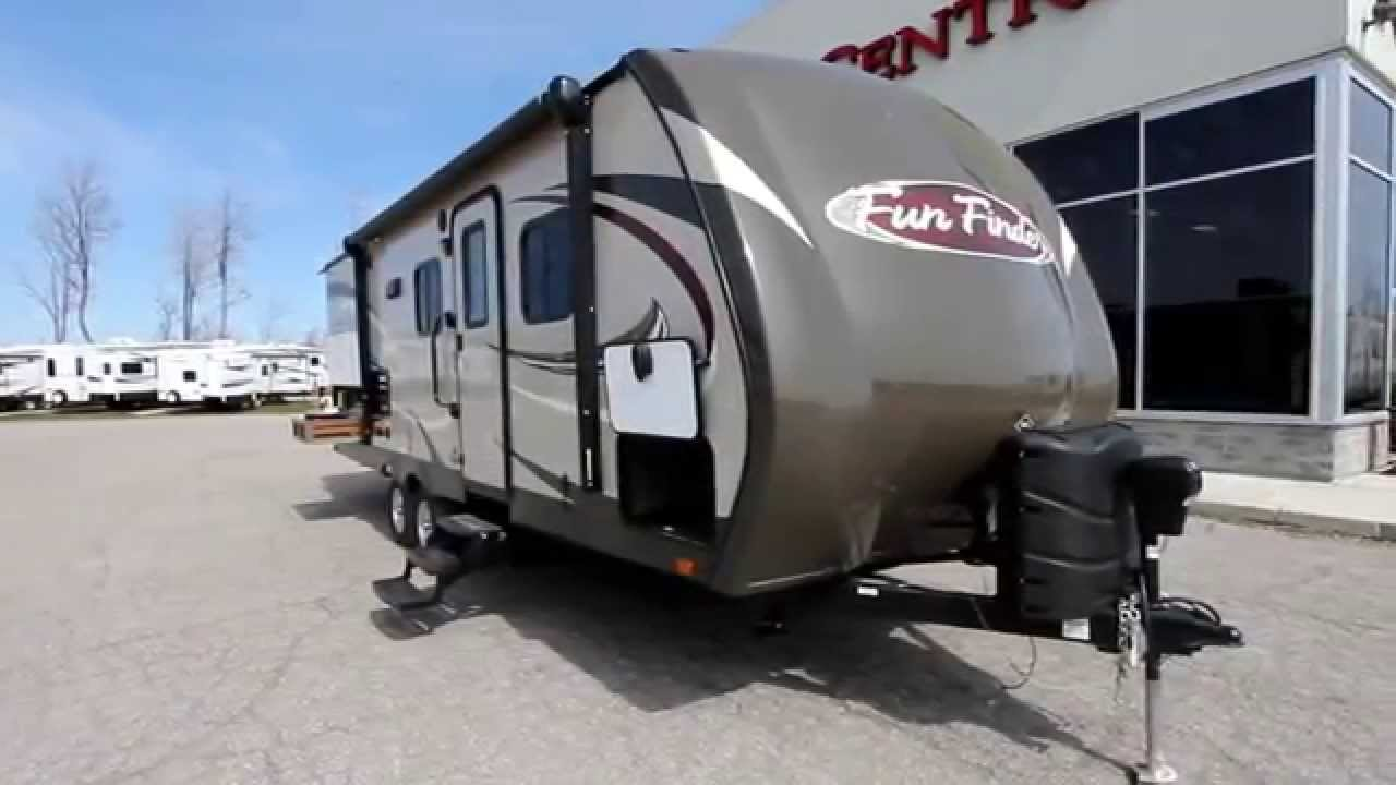 2015 Fun Finder 242BDS Review by Bella Vista RV - YouTube