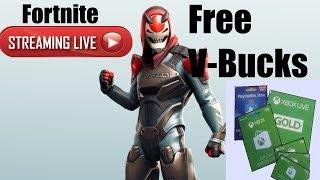 Fortnite | Live | Free V | Gift Card Giveaway