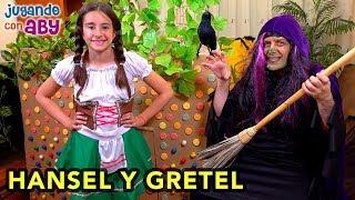 Aby en la CASITA DE CHOCOLATE de la bruja ¿Podrá escapar? HANSEL Y GRETEL YouTube Videos