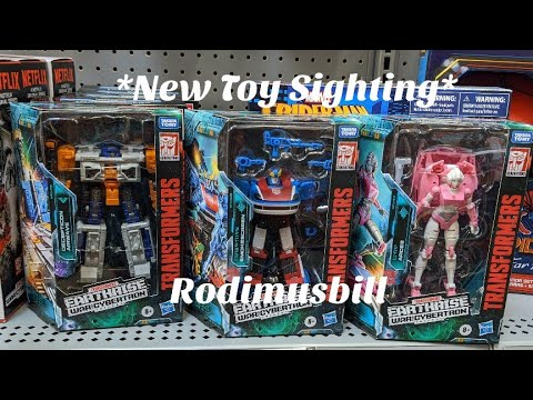 Earthrise Wave 2 Deluxe New Toy Sightings By Rodimusbill