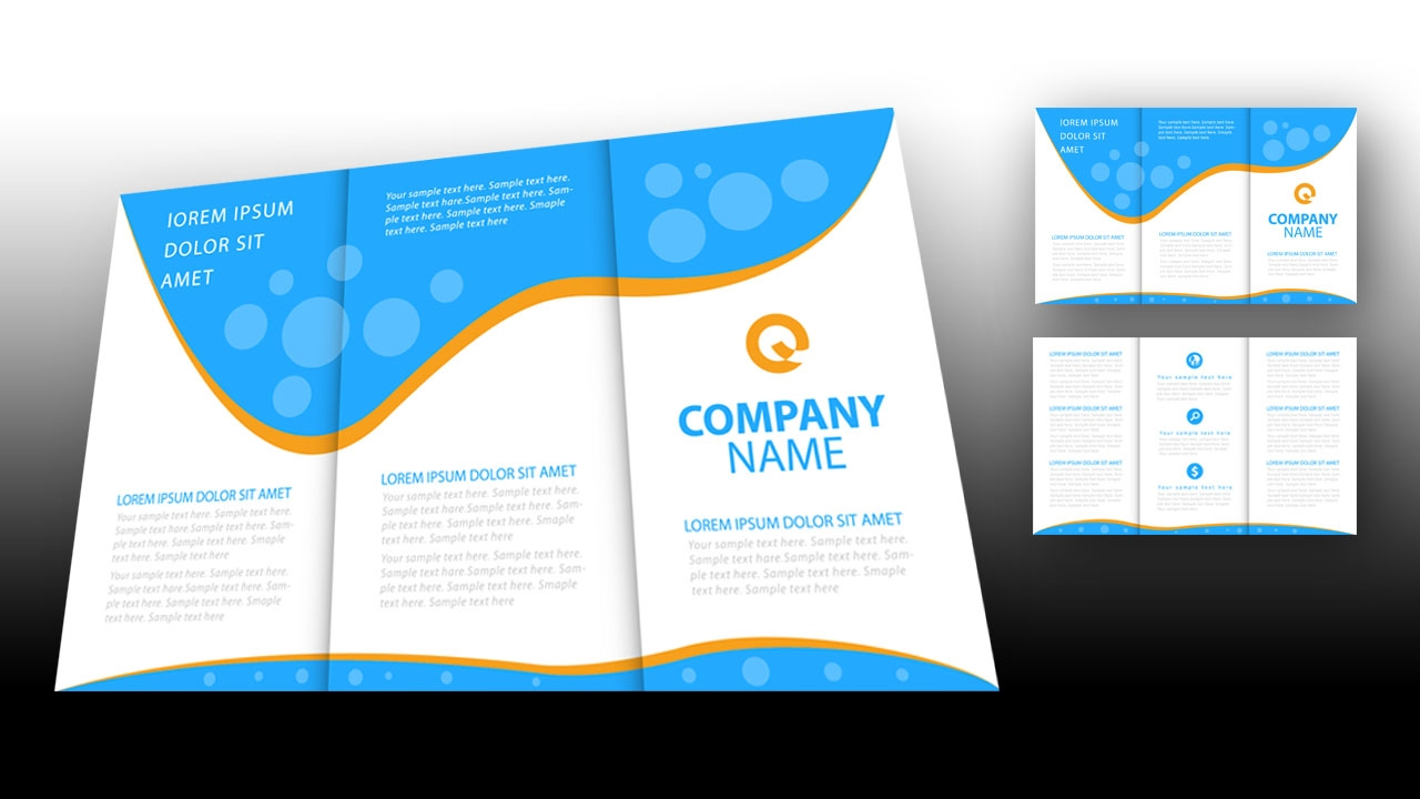 illustrator template brochure - illustrator tutorial brochure design template youtube