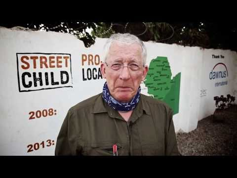 Nick Hewer for Street Child: bringing sustainability to rural schools Street Child Sierra Leone