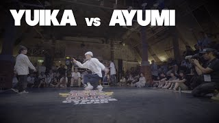 【QUARTER FINAL】YUIKA vs AYUMI │ Red Bull BC One Cypher Japan 2019 │ FEworks