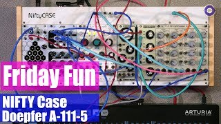 Friday Fun - Nifty Case Modular Synth Jam