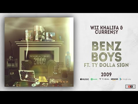 Wiz Khalifa & Curren$y - Benz Boys Ft. Ty Dolla $ign (2009)