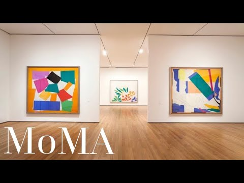 Inside Museum of Modern Art  - New York - Part II | Online Art Education