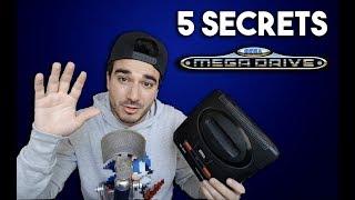 5 SECRETS CACHÉS SUR LA SEGA MEGADRIVE!