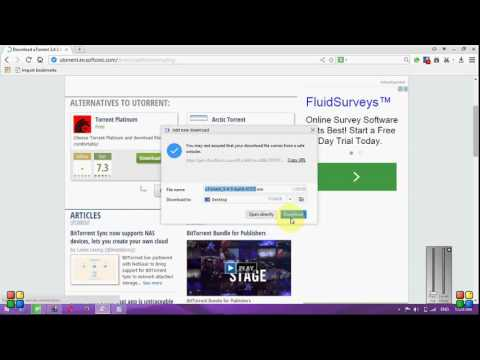 how to download a movie with bittorrent