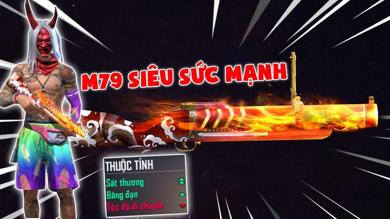 [Free Fire] THỬ THÁCH T GAMING SỞ HỮU SÚNG M79 HỎA LUÂN SIÊU SỨC MẠNH ** 1 BẮN 1 KILL