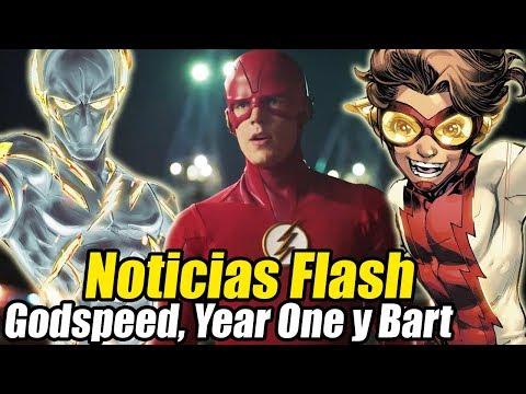 GODSPEED VUELVE, The Flash SIN Relleno y Más - Noticias Flash