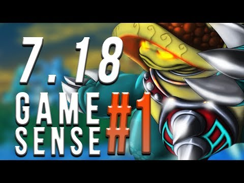 GAME SENSE #1 | RAMMUS ~ PATCH 7.18 | FULL GAME - Trick2G