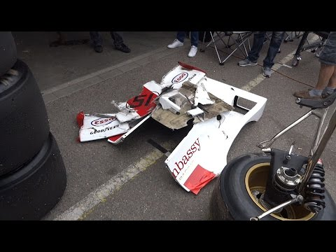 Graham Hill F1 Embassy Team Crash