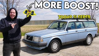homepage tile video photo for BIG TURBO LS Volvo Sleeper Gets MORE BOOST!