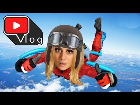 Ποιος τρόμαξε πιο πολύ στο Skydiving στην ΜΟΣΧΑ?  Kristina Ekou