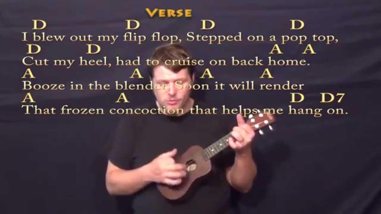 Margaritaville soprano ukulele cover lesson with lyricschords margaritaville soprano ukulele cover lesson with lyricschords hexwebz Gallery