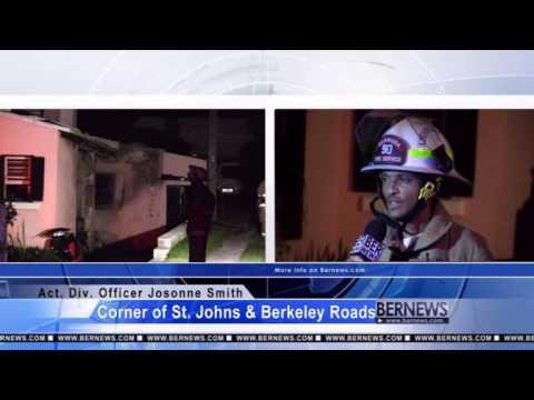 Fire Service Attend Berkeley Road, Feb 13 2013