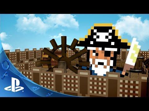 Pixel Piracy Announcement Trailer | PS4