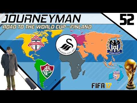 Fifa 17 - Journeyman - Road to the World Cup - #52 (Swansea)