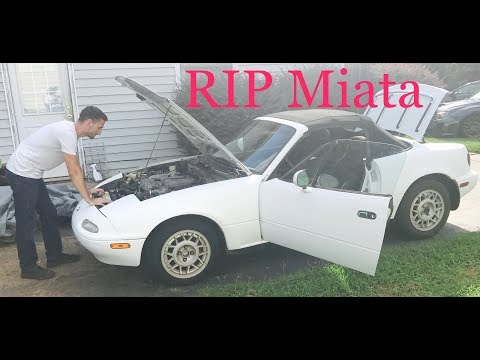 Miata Build: Episode 3 - I killed her, learn from my mistakes