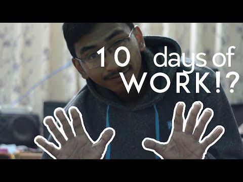 10 days of WORK - Survey Camp