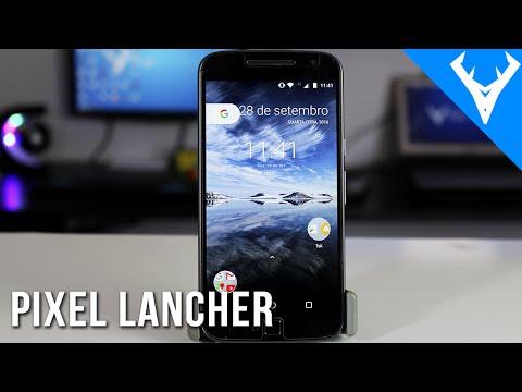 PIXEL LAUNCHER - NOVO LAUNCHER DA GOOGLE