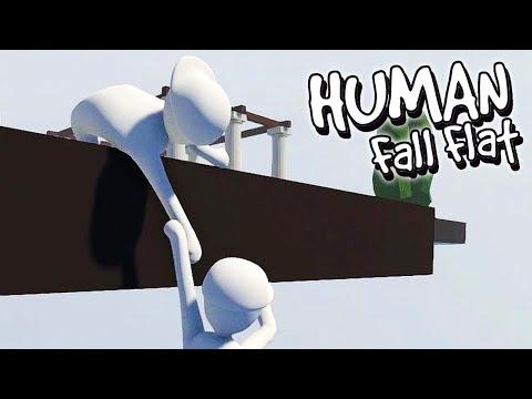 HUMAN FALL FLAT CO-OP = O SPARTAN ME TROLOU (GAMEPLAY PT/BR) FT SPARTAN GAMER