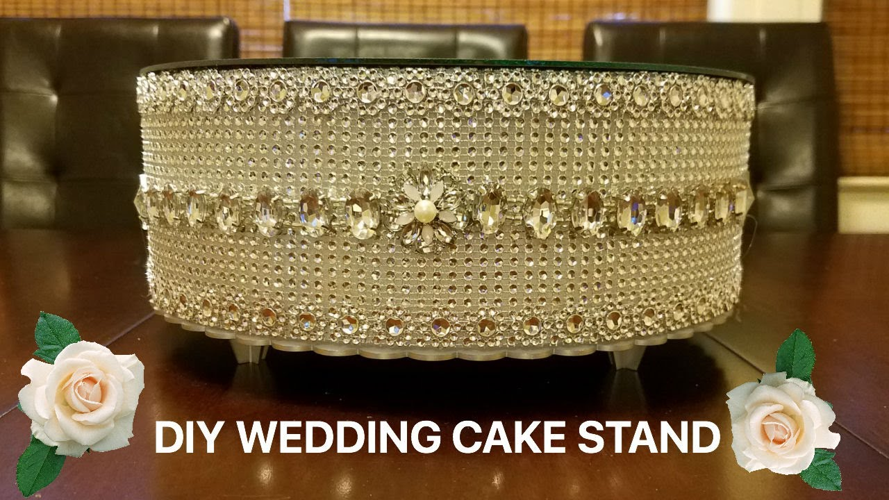 diy wedding cake platform diy wedding cake stand 13636