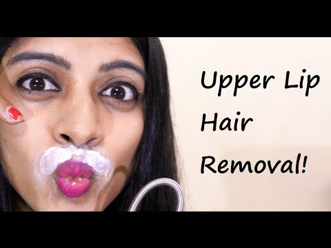 Upper Lip Hair Removal at Home _ (SuperWowStyle Prachi)