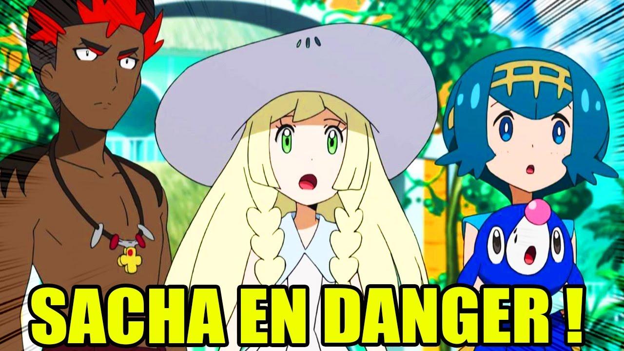 Pokemon Soleil Et Lune Saison 20 Episode 01 Sacha En Danger