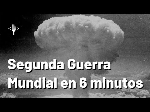 La Segunda Guerra Mundial explicada en 6 minutos