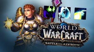 BFA PRIEST First Impression - World of Warcraft: Battle For Azeroth (BETA)