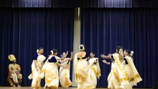 Kerala Hindu Society Onam Thiruvathira Dance Houston