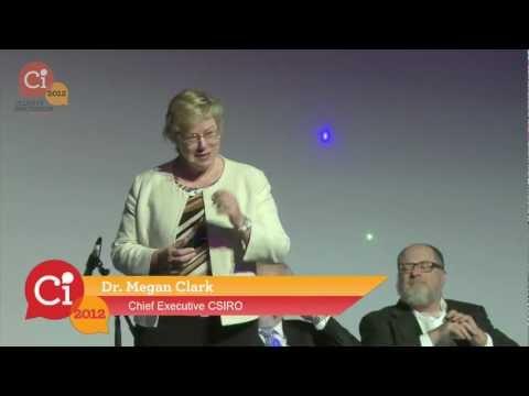 "Dr Megan Clark at Ci2012 - ""Large Scale, Multidisciplinary Thinking"""
