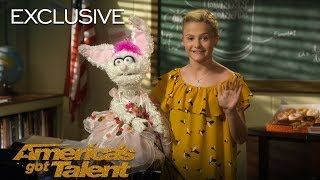 AGT's Season 12 winner, Darci Lynne, teaches the basics of ventriloquism. Learn how to use the ventriloquist's alphabet and create realistic puppets from one of ...