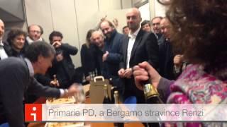 Bergamonews - Primarie Pd: Renzi trionfa in Bergamasca, la festa renziana thumbnail