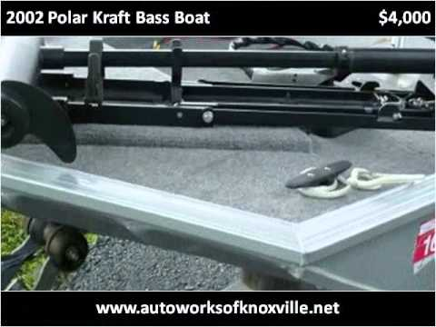 2002 Polar Kraft Bass Boat Used Cars Knoxville TN