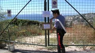 Napoli - Via Falcone, sequestrato parcheggio al clan Polverino -live- (31.07.13)