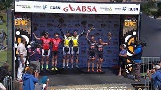 Afrique du Sud : départ de la course cycliste de Cape Epic
