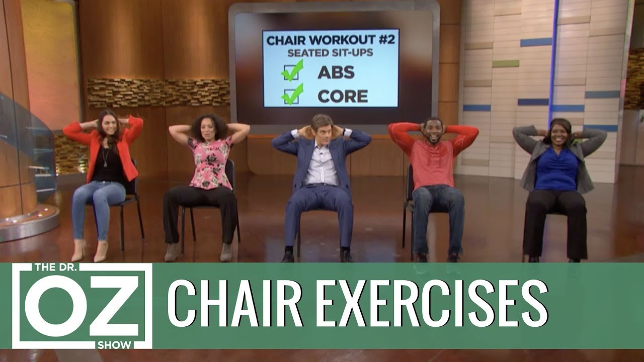 chair exercises on cable tv retro office 3 you can do everyday youtube