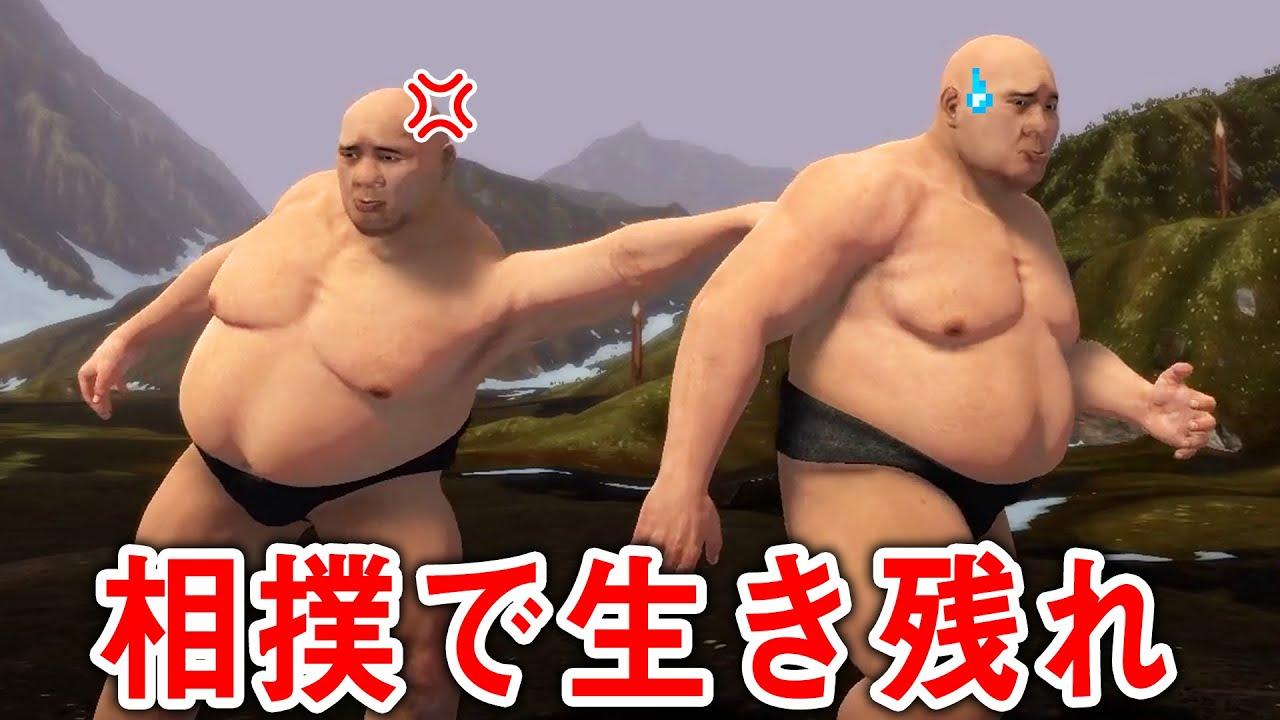 お相撲さんになって本気で相撲をするバカゲーが面白過ぎたww【バカゲー】