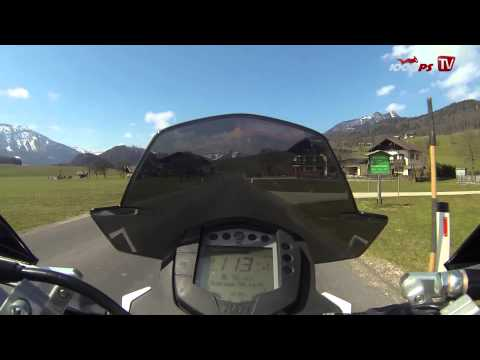 Beschleunigung   KTM 390 Duke 0-100 km/h 2013