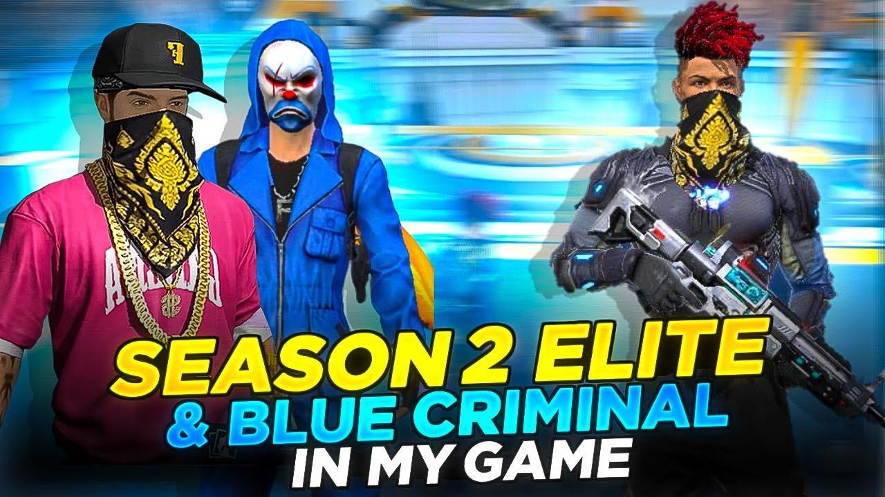 I Killed Blue Criminal & Season 2 HipHop Elite    Free Fire    Desi Army