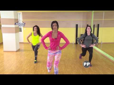 Target Fitness..Moldova Sport Tv//Lidia VINOGradova fitness 3