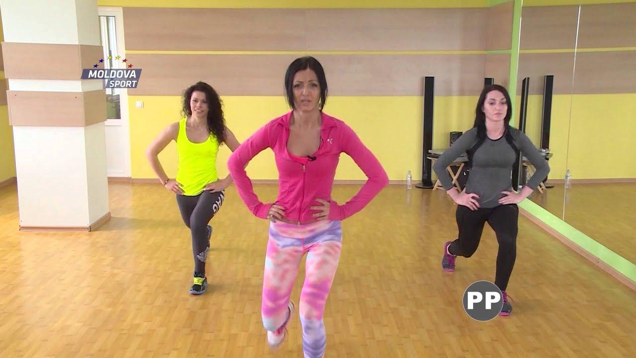 Target Fitness Moldova Sport Tv Lidia Vinogradova