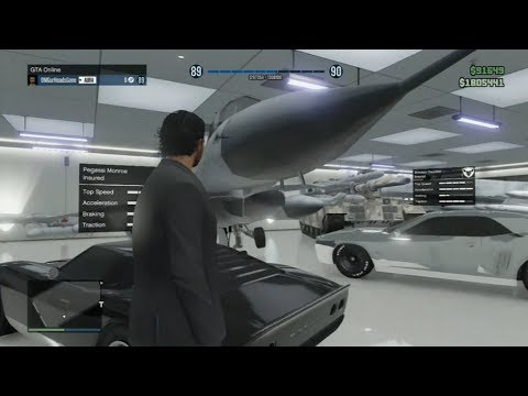 GTA V ONLINE: How To SAVE/INSURE A JET - Make It YOUR PERSONAL VEHICLE!(Put JET In Garage)(DETAILED)